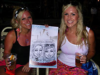 Caricatures for Annual Parties, Celebrations, Graduation Parties, and Homecomings, Trade Shows, Promotions, Corporate parties and events